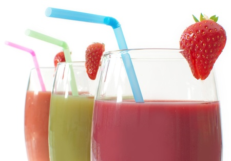 Fruit smoothies Stock Photo - 16604129