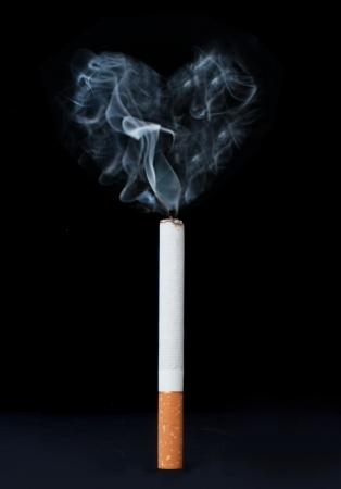 kills: Smoking kills  Stock Photo