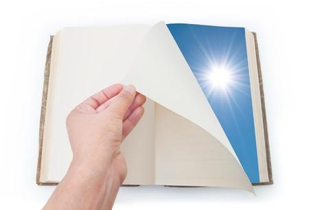 döndürme: Yeni bir sayfa açılması
