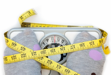 Weighing scales Stock Photo - 16720382
