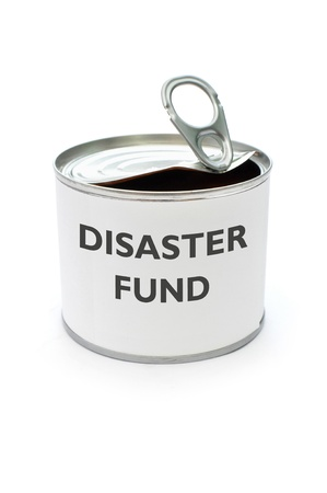 Disaster fund  Stock Photo - 17429274