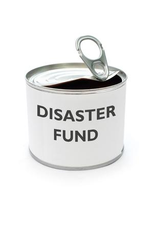 Disaster fund Stock Photo - 17429274