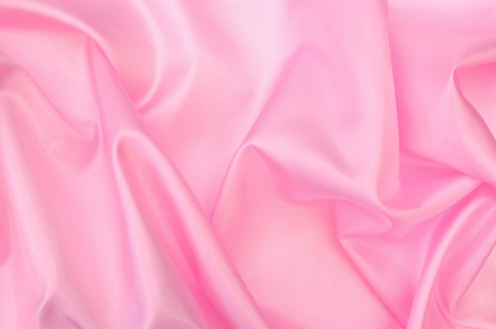 rippled: Abstract pink silk background  Stock Photo