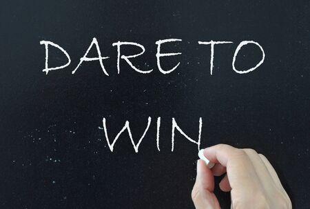 osare: Abbiate il coraggio di vincere