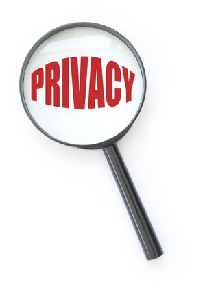 security laws: Privacy Stock Photo