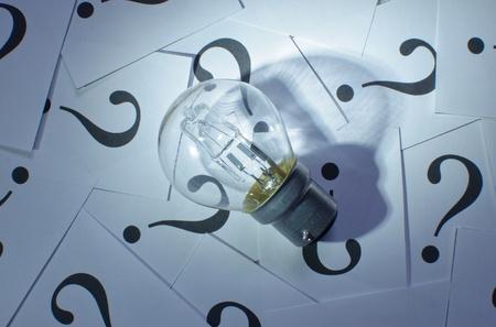 solves: Brainstorming  Stock Photo