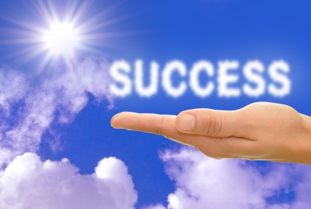 attainment: Success concept