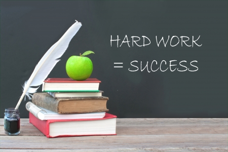Hard work is success Stock Photo - 19884405
