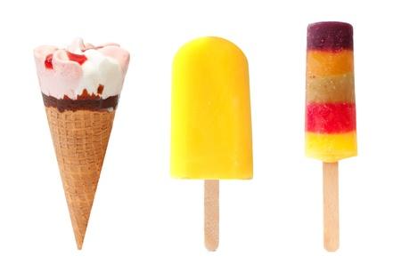 Icecream and popsicles  photo