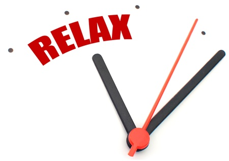time out: Time to relax
