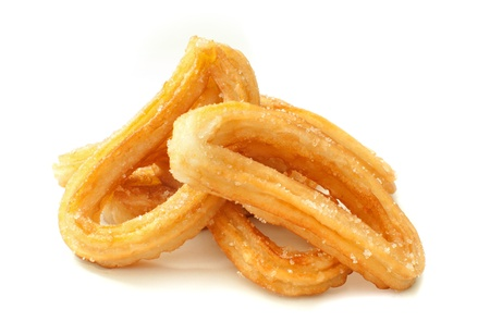 churros: Spanish churros  Stock Photo