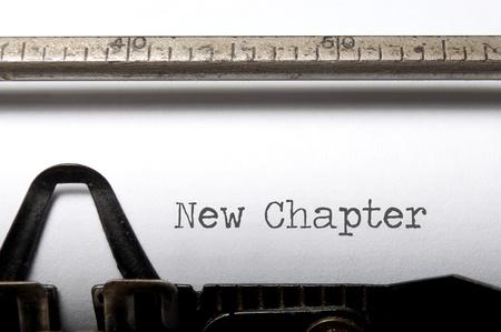 neu: Neues Kapitel