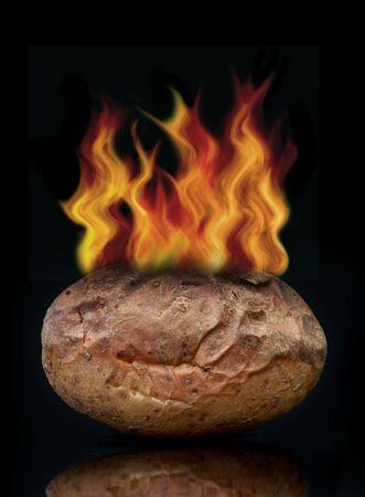 contentious: Hot potato concept