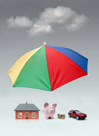 Insurance protection concept  photo
