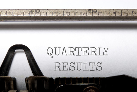 Quarterly results  photo