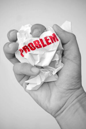 troubleshoot: Problem solving concept  Stock Photo