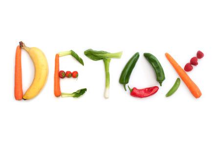 dieta sana: Detox Foto de archivo