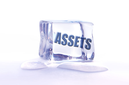 Frozen assets  photo