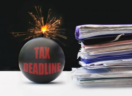 Tax deadline  photo