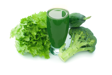 Vegetable smoothie Imagens