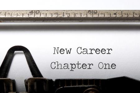 새로운 직업, 새로운 시작의 개념 스톡 콘텐츠