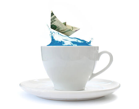 Storm in a teacup  photo