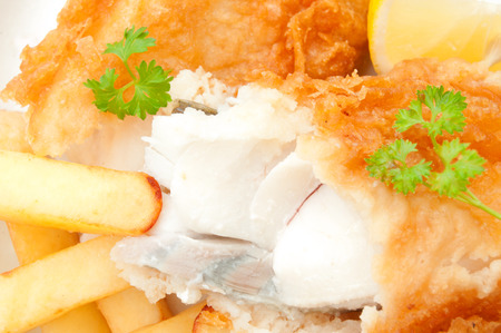 cod oil: Fish and chips