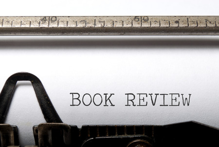 reviews: Book review  Stock Photo