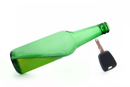 sobriety: Drinking and driving  Stock Photo