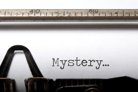 crime solving: Mystery