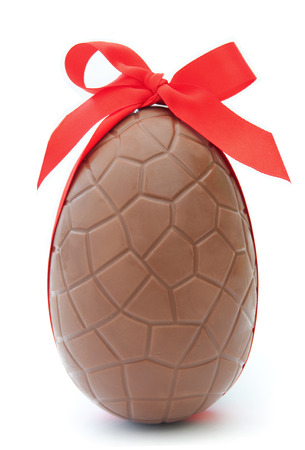 Chocolate easter egg  photo