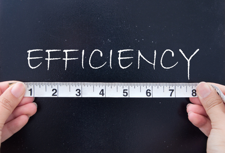 Measuring efficiency  photo