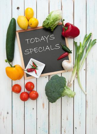 specials: Todays specials menu