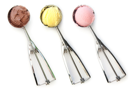 ice cream scoop: Ice cream scoops