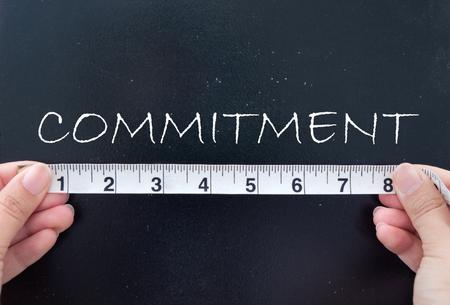 commitment: Compromiso de medici�n