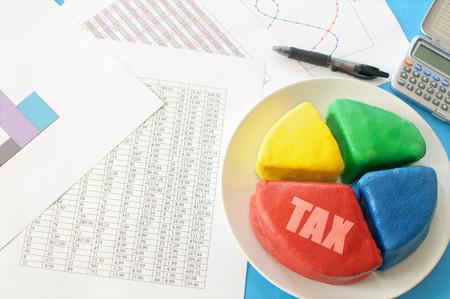 taxation: Tax pie chart