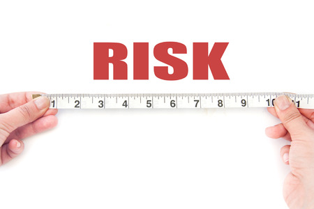 to assess: Measuring risk  Stock Photo