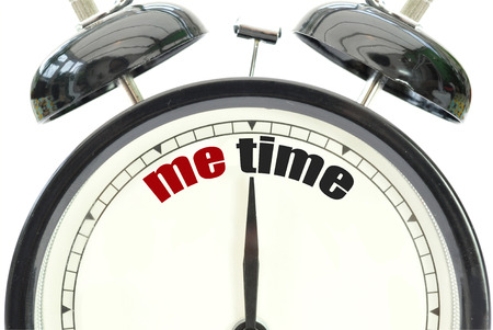 time out: Me time  Stock Photo