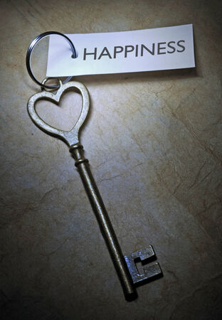 Key to happiness  photo