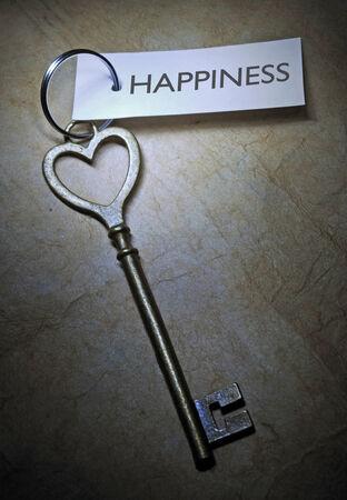 Key to happiness  photo