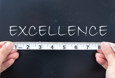 Measuring excellence  photo