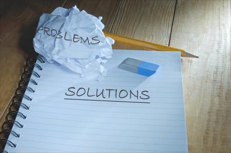 solving problem: Problem solving Stock Photo