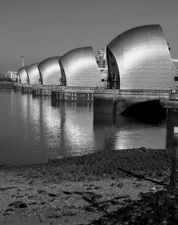 London River Thames barrier photo