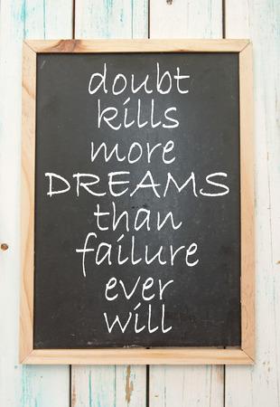 Motivational saying photo