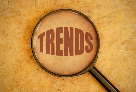 business trending: Focus on trends Stock Photo