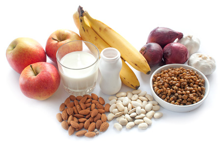 probiotic: Probiotic (or prebiotic) rich foods including pulses, nuts, fruit and milk products, good for immunity and the gut