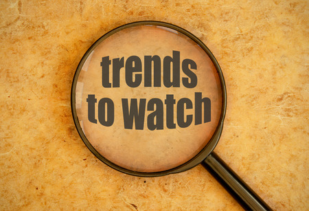 Trends to watch Reklamní fotografie