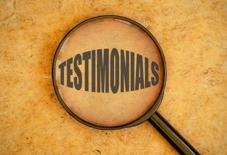reviews: Testimonials