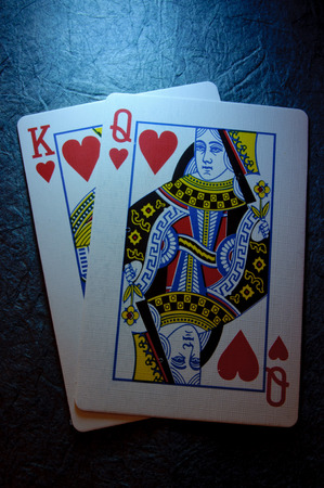 king and queen: King and queen of hearts