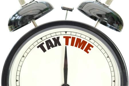 31: Tax time Stock Photo